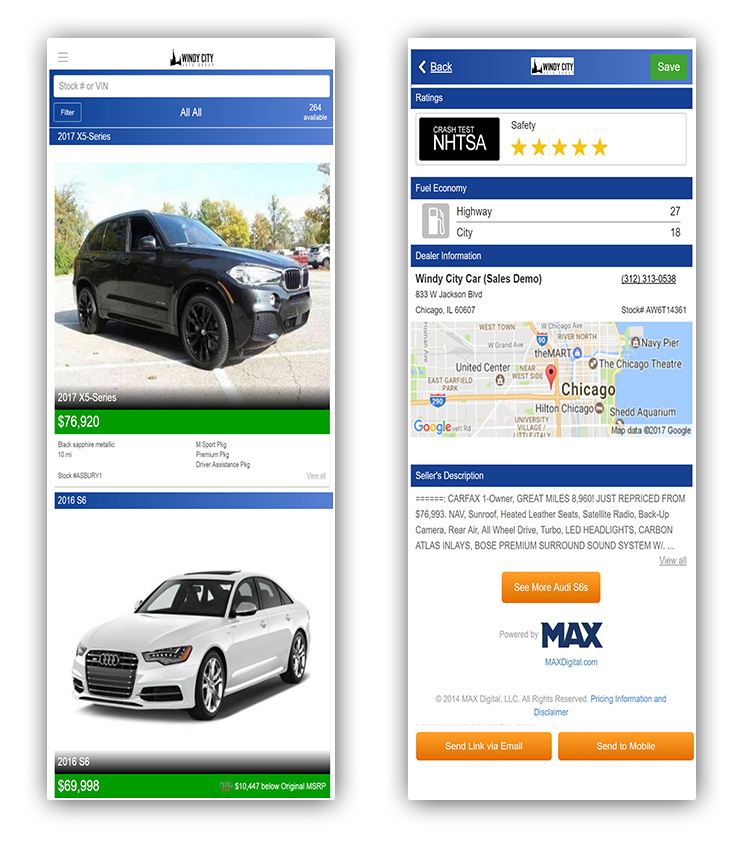 MAXDigital Re-Designs Digital Showroom, Adds Recall Alert Feature & Enhances Mobile App