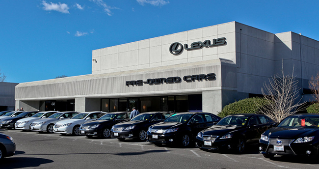 Congratulations Lexus of Pleasanton, our October Dealership of the Month!